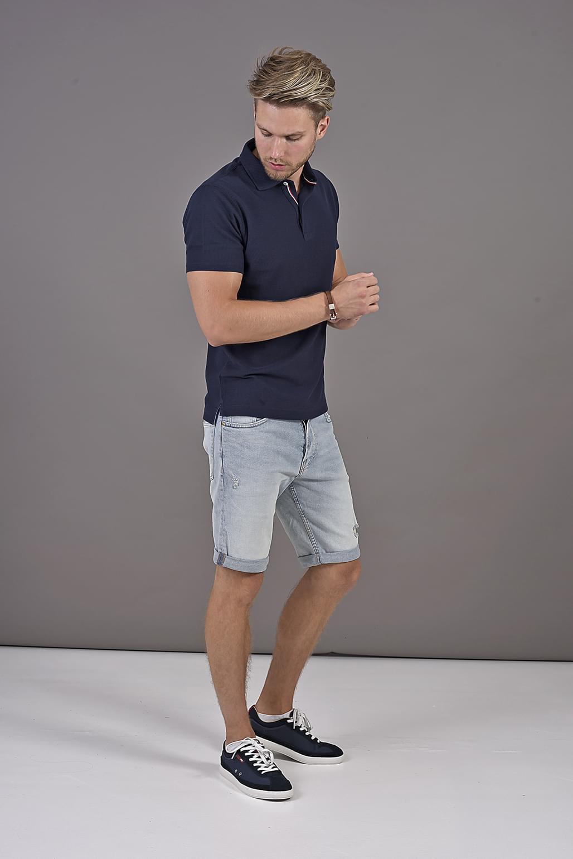 31822e0ee Playersroom | STRUCTURE SLIM POLO | Clothing | Polo shirts | Rövid ...