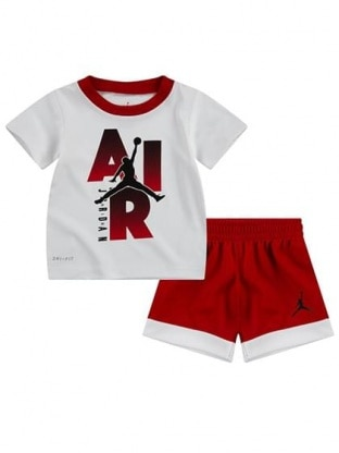 JORDAN LOGO TEE & SHORT SET
